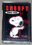 Snoopy leaning on wall Mini Playing Cards
