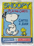 Snoopy dancing Playing Cards