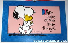 Take Care of the Little Things