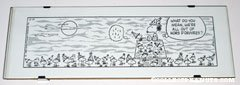 Snoopy and Woodstocks Party Comic Strip Desk Art