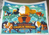 A Boy Named Charlie Brown by Tom Whalen - Standard