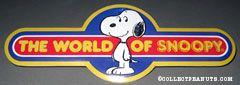 World of Wonders World of Snoopy display piece
