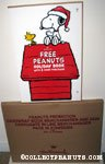 'Snoopy & Woodstock on Doghouse Free Book Display