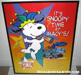 'Milllennium Snoopy Macy's Display