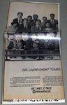 Peanuts Baseball Championship Metlife Team Newspaper Ad