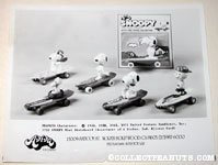 Peanuts Mini Skateboard Toys Aviva Product Sheet
