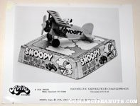 Snoopy Mini Die-Cast Plane Aviva Product Sheet