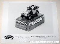 Snoopy Family Car Aviva Product Sheet