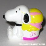 Snoopy sitting next to ice cream Baskin Robbins Giveaway