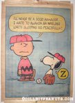 Peanuts Hang-Up #8 - Charlie Brown and Snoopy