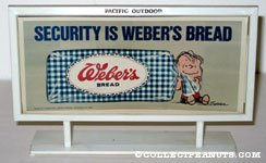 Linus 'Security is Weber's Bread' Billboard Mockup