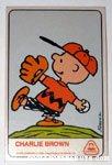 Charlie Brown Dolly Madison Baseball Card
