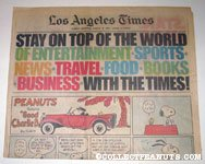 L.A. Times August 9, 1981 Comics Section