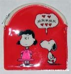 Snoopy with Puckered Lips