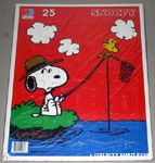 Snoopy & Woodstock fishing Puzzle