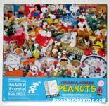 Peanuts Collectibles Puzzle