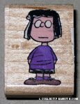 Marcie standing Rubber Stamp