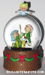 Peanuts Shepherds and Angel Christmas Snowglobe