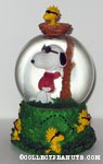 Snoopy Joe Cool and Woodstock Snowglobe