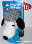 Snoopy wearing tartan tam hat Golf Club Cover