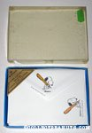 Snoopy with over-sized pen Stationery