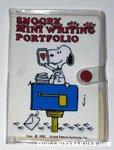Snoopy Mini Writing Portfolio