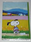 Snoopy running Stationery Lap Pack