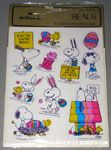 Peanuts & Snoopy Easter Stickers