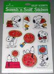 Peanuts & Snoopy Scratch & Sniff Stickers