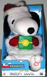 Snoopy holding gift box Animated Doll