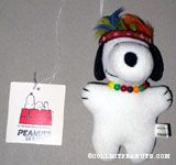 Native American Snoopy Doll