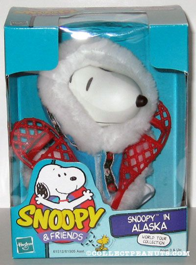 World Tour Snoopy in Alaska Doll