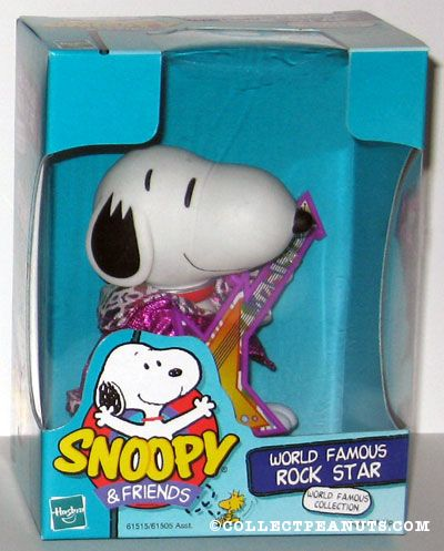 World Famous Rock Star Snoopy Doll