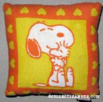 Peanuts & Snoopy Mini Pillows