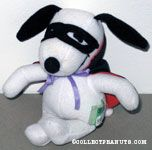 Snoopy wearing mask and cape Plush