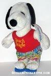 Snoopy Beach Beagle Plush