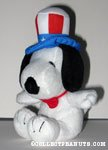 Snoopy Uncle Sam Patriotic Plush
