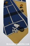 Snoopy and Woodstock playing Tennis Necktie
