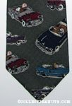 Peanuts Gang with classic cars Necktie