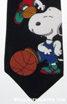 Snoopy playing basketball Necktie