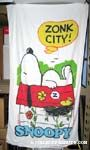 Peanuts & Snoopy Beach Towels