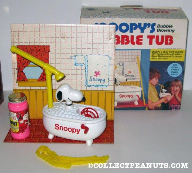 Snoopy's Bubble Tub