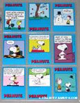 Peanuts Classics Series 1, 118-126 Trading Cards