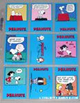 Peanuts Classics Series 1, 127-135 Trading Cards