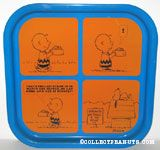 Snoopy & Charlie Brown 'Servants Entrance' Comic Metal Tray