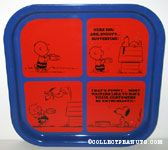 Snoopy & Charlie Brown 'Waiters' Comic Metal Tray