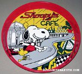 Snoopy's Cafe Tray