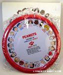 Portaits of Peanuts Gang characters Tray