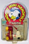 Snoopy in Red Wagon