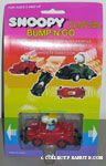 Peanuts & Snoopy Bump n' Go Cars